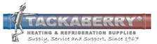 Tackaberry heating and refrigeration supplies logo